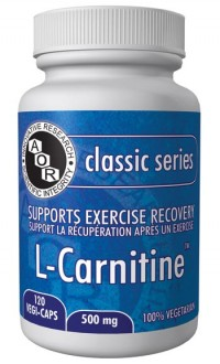 L-Carnitine 500mg 120 Vegi-Caps
