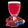 Blueberry and Cran-Granata Flavoured Drink Mix
